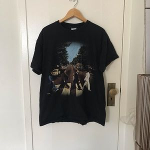 The Beatles abbey road t shirt